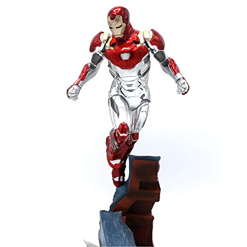 Marvel Avengers Flying Stance Iron Man MK47 Estatua