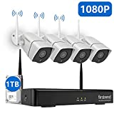 Best Surveillance Systems - Security Camera System Wireless, 1080P 8CH Wireless Home Review