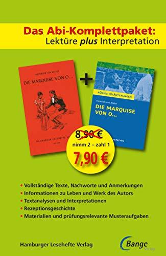 Die Marquise von O... - Lektüre plus Interpretation: Königs Erläuterung + kostenlosem Hamburger Leseheft von Heinrich von Kleist. (Königs Erläuterungen)