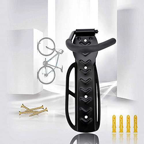 ALLILUYAA Supporto Parete Bicicletta,Portabici da Muro Appendi Bici Salvaspazio Portabici a Parete per Appendere la Bicicletta nel Garage or Shed può Contenere Fino a 30 kg