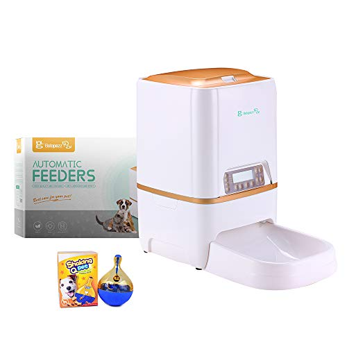 BELOPEZZ 6Liters Smart Pet Automatic Feeders for Dog and Cat Food Dispenser with Timer Programmable...