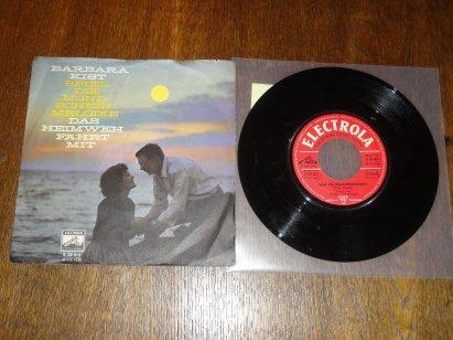 Barbara Kist / Spiel die Mondschein Melodie / Single Vinyl
