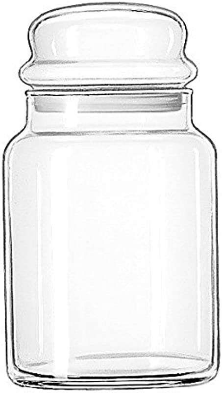Libbey 70997 Storage Jar With Lid Set Of 12 Clear