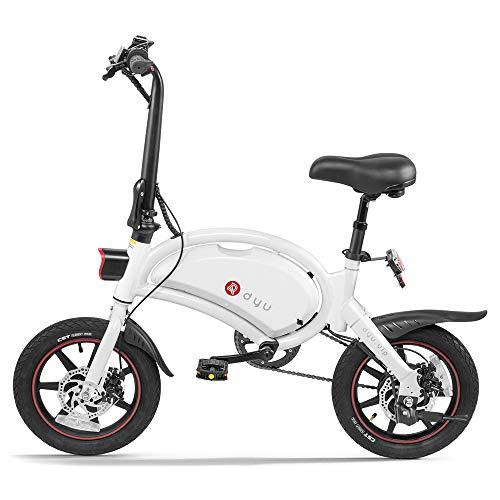ZXM Bicicleta de 14 Pulgadas Asistente de Potencia Plegable Bicicleta eléctrica Bicicleta...