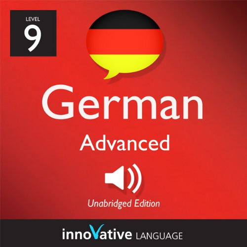 Couverture de Learn German - Level 9: Advanced German, Volume 2: Lesson 1-25