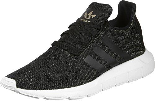 adidas Damen Swift Run W Fitnessschuhe, Schwarz (Core Black/Core Black/FTWR White), 40 2/3 EU