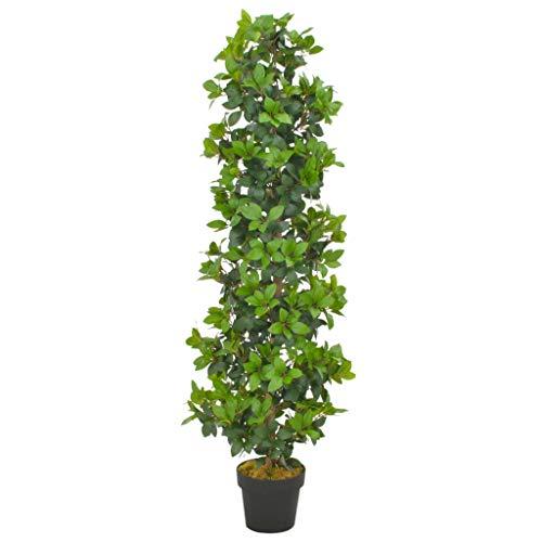 GTRBV Direct vidaXL Künstliche Pflanze Lorbeerbaum mit Topf Grün 150 cm