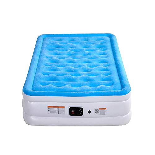 BUYT Air Mattresses Best Inflatable Airbed with Built-in Pump Queen Size Elevated Raised Air Mattress