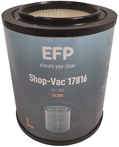 aspirador filtro agua fabricante EFP