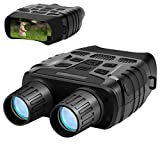 Aurho Night Vision Binoculars, 720P HD Digital Infrared Hunting Binocular 300 Yards IR Camera with Video Recorder with 2.31' TFT LCD Photos Videos Playback for Wildlife