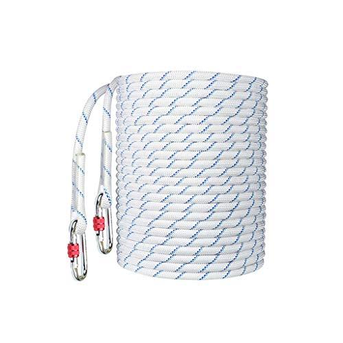 LIINAWS corda Corda for installazione aria condizionata 14MM, poliestere + polipropilene resistente all'usura acido e alcali morbido e facile da annodare velocemente (Size : 10M)