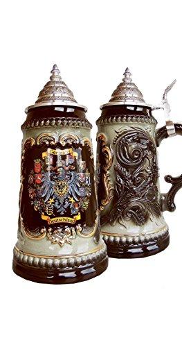 Zöller & Born Jarra de Cerveza Alemana con los Estados federados, 0,5 litros ZO 1573S6011