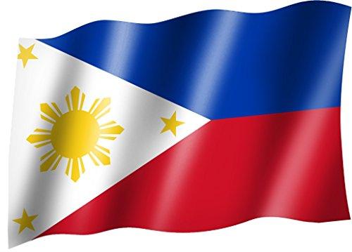 Flagge/Fahne PHILIPPINEN Staatsflagge/Landesflagge/Hissflagge mit Ösen 150x90 cm, sehr gute Qualität