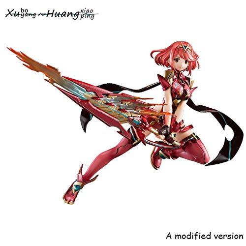 Xenoblade Chronicles 2: Pyra PVC Figure - Cuchillo Rojo celebración de una Gran En Su Mano