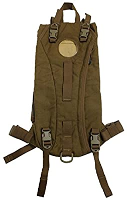 Military Outdoor Clothing Previously Issued US GI Coyote USMC 3 L Hydration Carrier (Bladder Not Included)