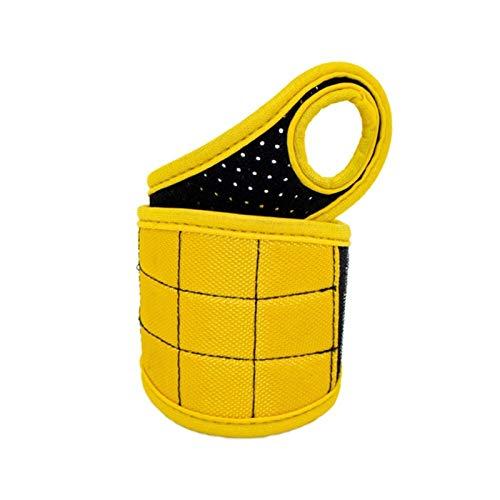 Organizadores de herramientas Correa de pulsera magnética Mano Wraps Herramientas Bolsa Tornillos Tenedor de perforación Reparación Herramienta Cinturón Pulsera Herramienta de almacenamiento fuerte To