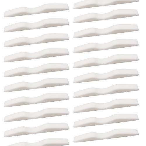 GOKEI ノーズブリッジパッド ノーズパッド 40本 鼻 スポンジ 鼻パッド ノーズテープ 眼鏡 防曇 くもり防止 ブリッジ メモリーフォーム 粘着式ストリップシール ノーズブリッジ メガネ曇りにくい 快適