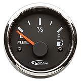 CAN SB Indicatore di Livello per Carburante 240/30 Ohm - Nero Ghiera Inox