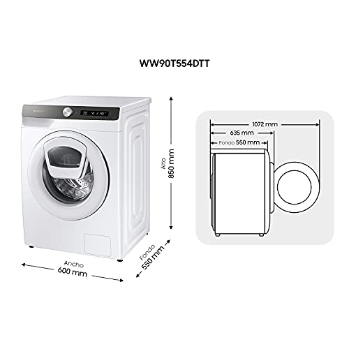 SAMSUNG WW90T554DTT/S3