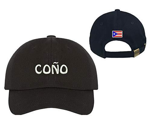PRFCTO Coño Puerto Rican Funny Sayings Unisex Baseball Hat - Puertorican Slang Cap
