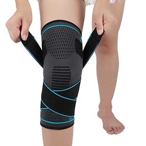 Kniestütze für Arthritis ACL und Meniskusriss, Kniebandage entlastet das Kniegelenk und aegen Knieschmerzen, Knieorthese für Damen und Herren, Single L