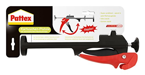 Pattex Pistolet Pliable Accessoire colle, Noir