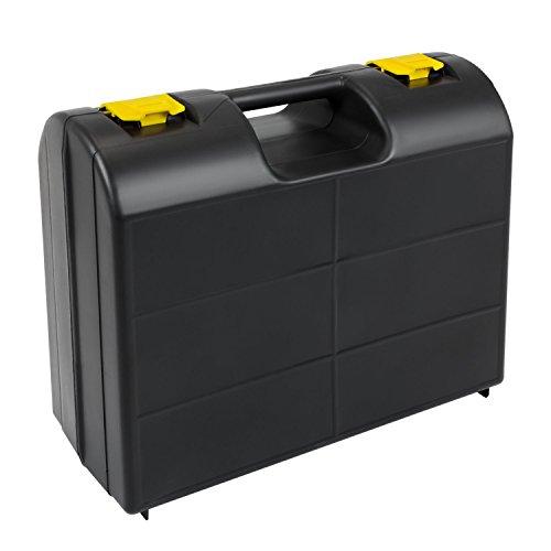Werkzeugkoffer Tool Case Premium Werkzeugbox Elektrowerkzeug 400x320x180 mm Schaumstoffeinlage