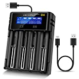 Best Vape Battery Chargers - LCD Display Universal battery charger,Rechargeable USB Intelligent Charger Review