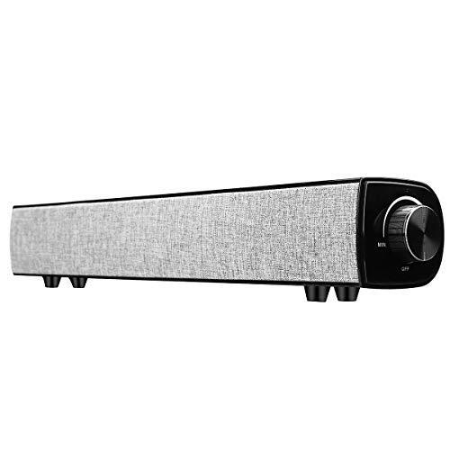 KDMB Soundbar Lautsprecher,Soundbar für TV 360 ° Stereo 20W High Power 4000mAh...