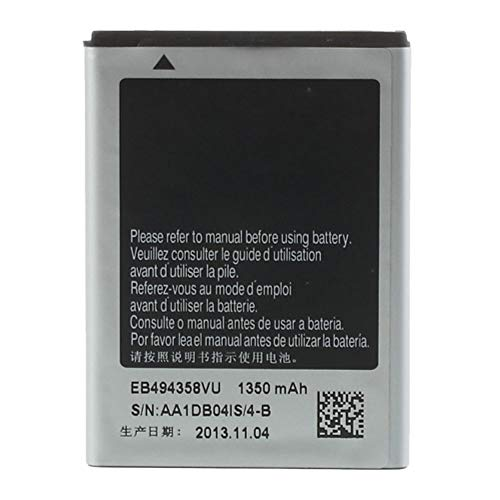 Original Samsung EB494358VU Battery For Samsung Galaxy Ace GT S5830i S5830 S5660 Gio New OEM