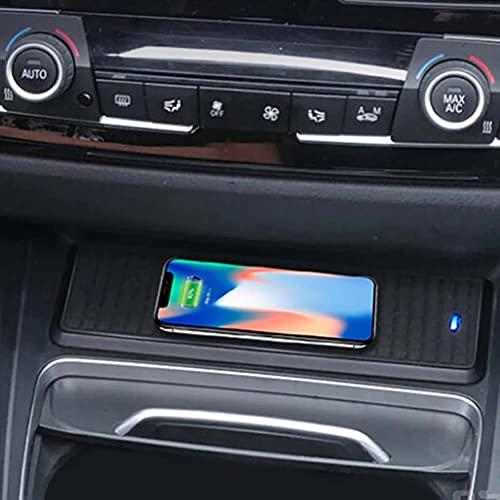 10W coche QI cargador inalámbrico placa de carga accesorios de soporte para teléfono móvil para BMW 3 4 Series F30 F31 F32 F33 F34 F35 F36