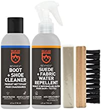 GEAR AID Revivex Suede, Nubuck and Fabric Boot and Shoe Care Kit with Protector Spray