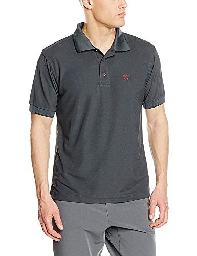 Fjällräven Mens Crowley Pique M T-Shirt, Mountain Grey, XXL