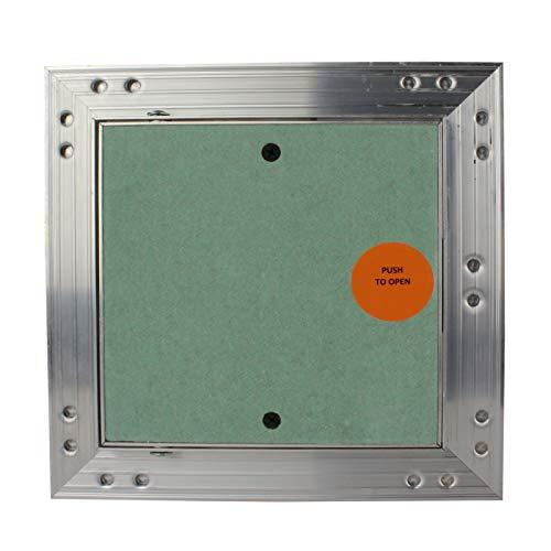 Wartungs Inspektionsklappe Revisionsklappe GK-Einlage Feuchtraum Gipskarton Alu - VONLIS® 150 x 150 mm