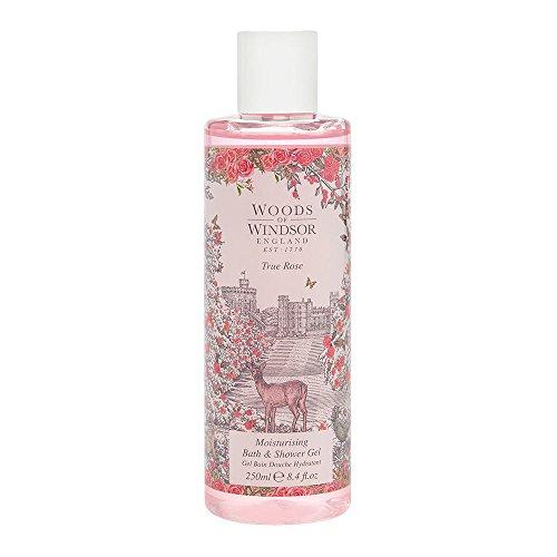 True Rose Feuchtigkeitsspendendes Bade- und Duschgel für Sie