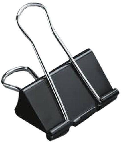 Graffette a clip per fogli, 12 X 25 mm, pieghevole, con clip posteriore