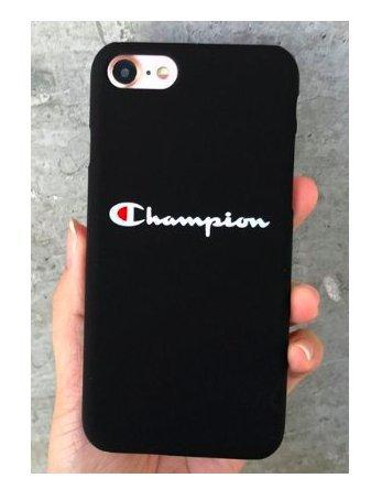 WRAP Coque iPhone 7 et iPhone 8 Champion Noir Sportswear Plastique rigide (LIVRAISON RAPIDE)