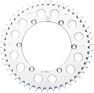 Primary Drive Rear Aluminum Sprocket 50 Tooth Silver for KTM 250 SX-F 2005-2018