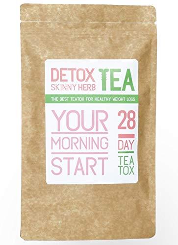 28 Morning Start Tea : Detox Skinny Herb Tea - Boost Metabolism/Regulate Metabolism/Blood Pressure / 100% Natural