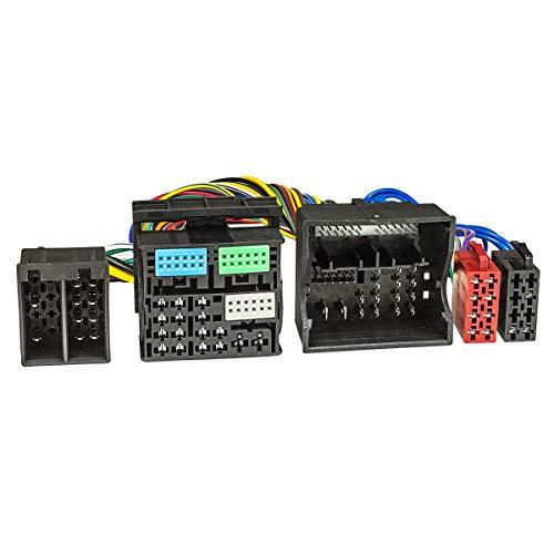 tomzz Audio 7303-001 T-Kabel ISO kompatibel mit Audi ab 2013 VW Seat Skoda ab 2012 Power Quadlock 52pin zur Einspeisung von Freisprecheinrichtung ISO Verstärker