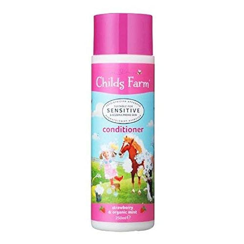 ひまわり動詞アクチュエータConditioner for Unruly Hair (250ml) x 6 Pack by Childs Farm