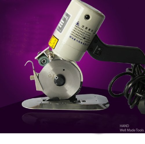 dy-90libre de pie eléctrica Rotary máquina de tela/paño de corte cuchilla de...
