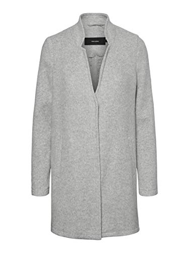VERO MODA Female Jacke Übergangs Slight Grey Melange