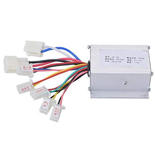 Birdlantern Controlador de Cepillo, Accesorio de Controlador de Cepillo de Scooter eléctrico de aleación de Aluminio 24V250W Plata