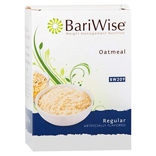 BariWise Low-Carb High Protein Oatmeal / Instant Diet Hot Oatmeals - Regular (7 Servings/Box) - Low Carb, Low Calorie, Low Fat, Sugar Free, Aspartame Free