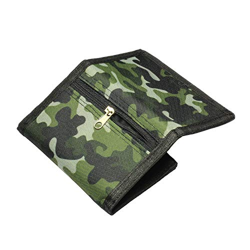 RFID Slim Camouflage Wallet for Kids/Trifold Wallets for Men/Mini Trifold...