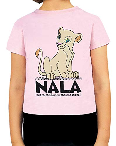 Lion King Disney Nala Queen of The Jungle Girl Camiseta Rosa