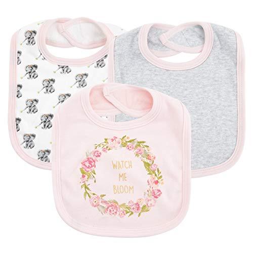 3 uds, baberos para bebés y niñas, baberos con bandana para bebés, baberos triangulares para bebés, bufanda de tela para eructos, delantal impermeable, toalla de dibujos animados