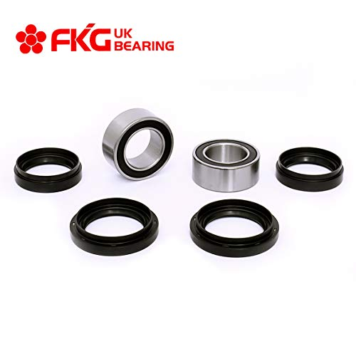 Front Left and Right ATV Wheel Bearing and Seal Kit fit for 1988-2000 Honda FourTrax 300 TRX300FW 4x4