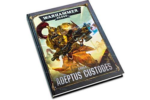 Games Workshop Warhammer 40k Adeptus Custodes Codex